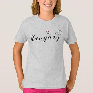 Hungary Heart T-Shirt, Hungarian T-Shirt