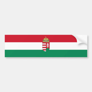 Hungary/Hungarian 1940 Flag Bumper Sticker