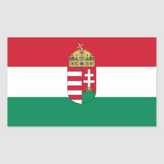 Hungary/Hungarian 1940 Flag Sticker