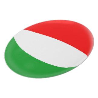 Hungary Hungarian Flag Plate