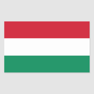 Hungary/Hungarian Flag Sticker