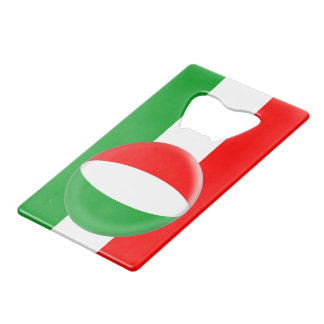 Hungary Hungarian Flag Wallet Bottle Opener