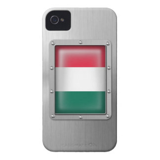 Hungary in Stainless Steel iPhone 4 Cases