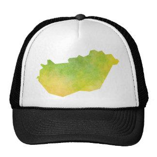 Hungary Map Trucker Hat