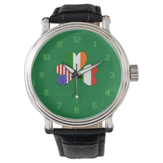 Hungary Shamrock Watch