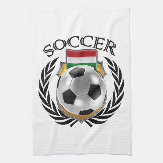 Hungary Soccer 2016 Fan Gear Kitchen Towel