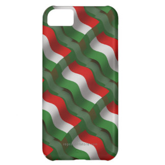 Hungary Waving Flag iPhone 5C Cases