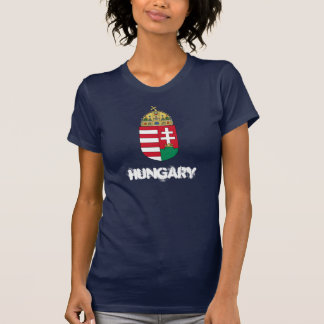 Hungary with coat of arms shirts
