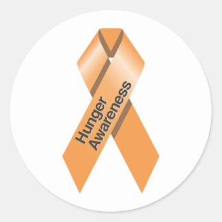 Hunger Awareness Sticker