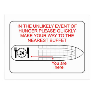 Hunger Emergency Postcard