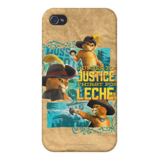 Hunger For Justice Cover For iPhone 4