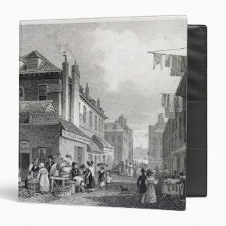 Hungerford Market, Strand, engraved Thomas Binder