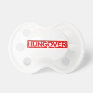 Hungover Stamp Pacifier