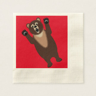 Hungry as a Bear Disposable Napkins