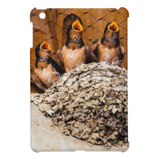 Hungry Baby Swallows - Antelope Island - Utah Case For The iPad Mini