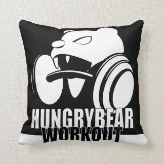 Hungry Bear Throw Pillow
