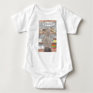 Hungry Beaver Baby Bodysuit