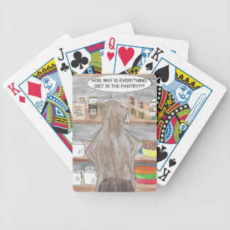Hungry Beaver Bicycle Playing Cards