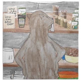 Hungry Beaver Napkin