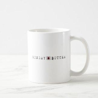 Hungry Butter - BegLine Classic White Coffee Mug