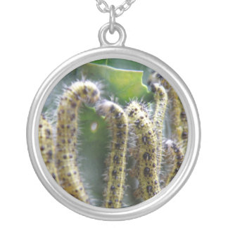 Hungry Cabbage White Caterpillars Necklace