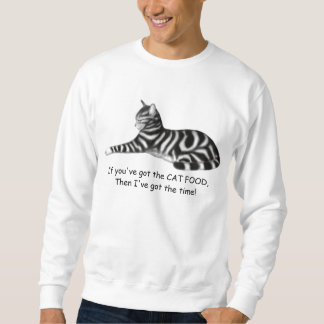 Hungry Cat Philosophy Shirt
