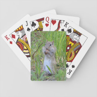 Hungry Chipmunk Poker Deck