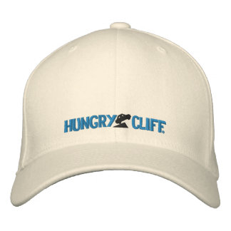 Hungry Cliff Embroidered Fitted Logo Cap