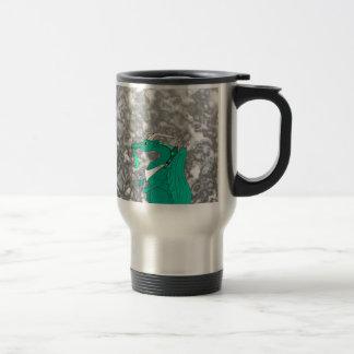 Hungry Dragon Stainless Steel Travel Mug