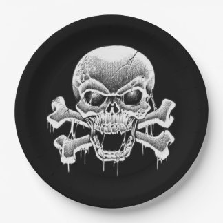 Hungry Eyes Halloween Party Paper Plates