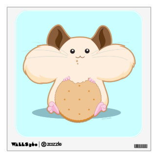Hungry Hamster Wall Sticker