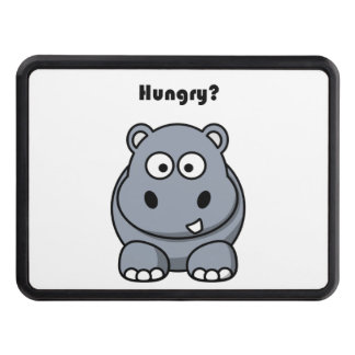 Hungry Hippo Cartoon Trailer Hitch Cover