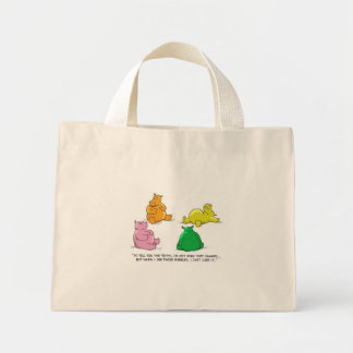 Hungry Hippos! - Tiny Tote