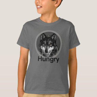 Hungry - Kids' Basic Hanes Tagless ComfortSoft® T-Shirt