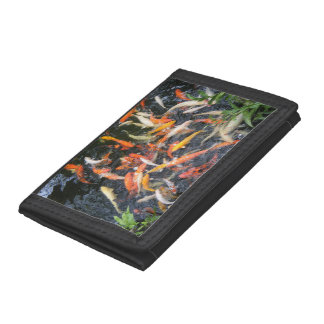 Hungry Koi Tri-fold Wallets