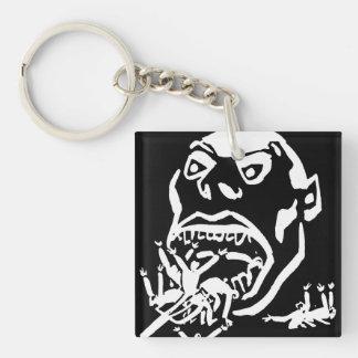 Hungry Man / Moloch a Faim Double-Sided Square Acrylic Keychain