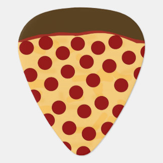 Hungry Musician Pepperoni Pizza Guitar Pick