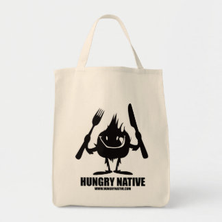Hungry Native Grocery Tote