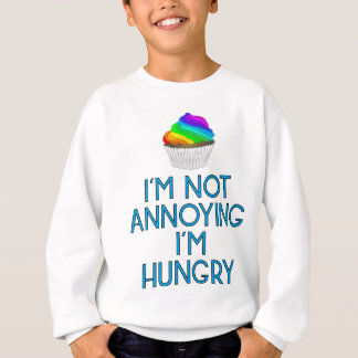 Hungry nearly Food Burger Lunch hunger Dinner Sweatshirt