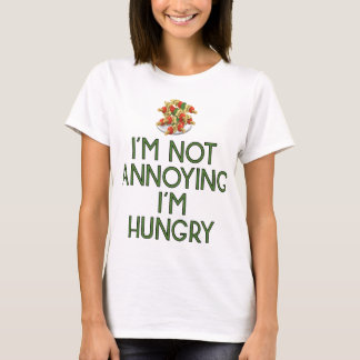 Hungry nearly Food Burger Lunch hunger Dinner T-Shirt