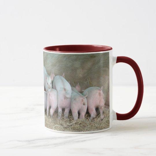 Hungry Piglets Mug