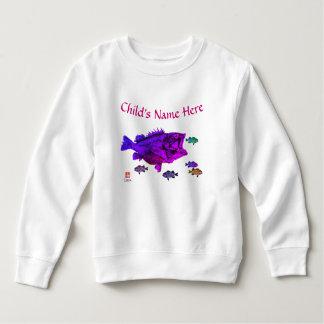 Hungry Rockfish - Toddler Fleece Sweatshirt