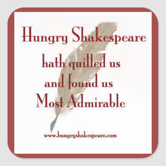 Hungry Shakespeare Sticker