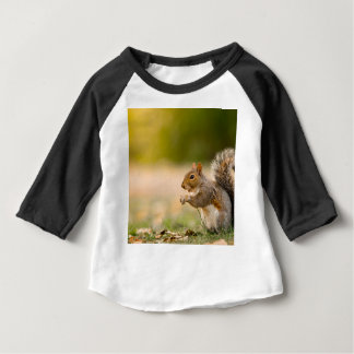Hungry Squirrel Baby T-Shirt