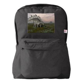 Hungry stegosaurus - 3D render Backpack