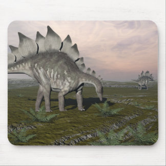 Hungry stegosaurus - 3D render Mouse Pad