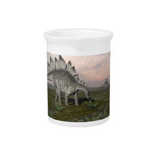 Hungry stegosaurus - 3D render Pitcher