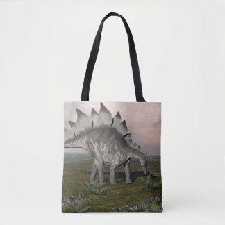 Hungry stegosaurus - 3D render Tote Bag