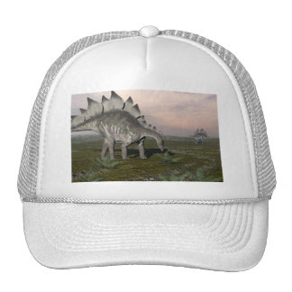 Hungry stegosaurus - 3D render Trucker Hat