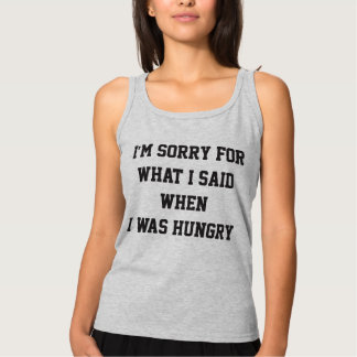 Hungry tank top